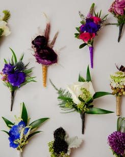 Corsages + Boutonnieres