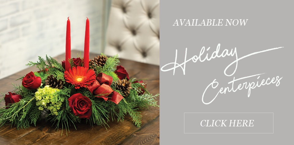 Holiday Floral Centerpieces | In Bloom Florist | Orlando, Fl | Same Day Delivery