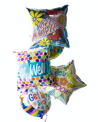 Get Well Soon Balloon Delivery Orlando (FL) Same-day Delivery
