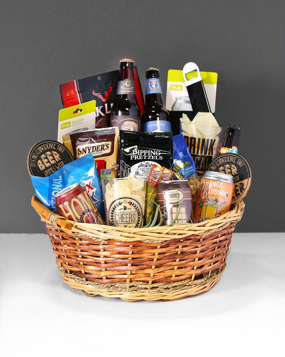 Craft Beer Gift Basket Orlando FL Sameday Delivery