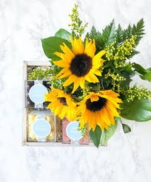 Sunflowers + Sweets Gift Box