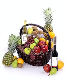 Fruit & Wine Basket Delivery Orlando (FL) Same-day Delivery