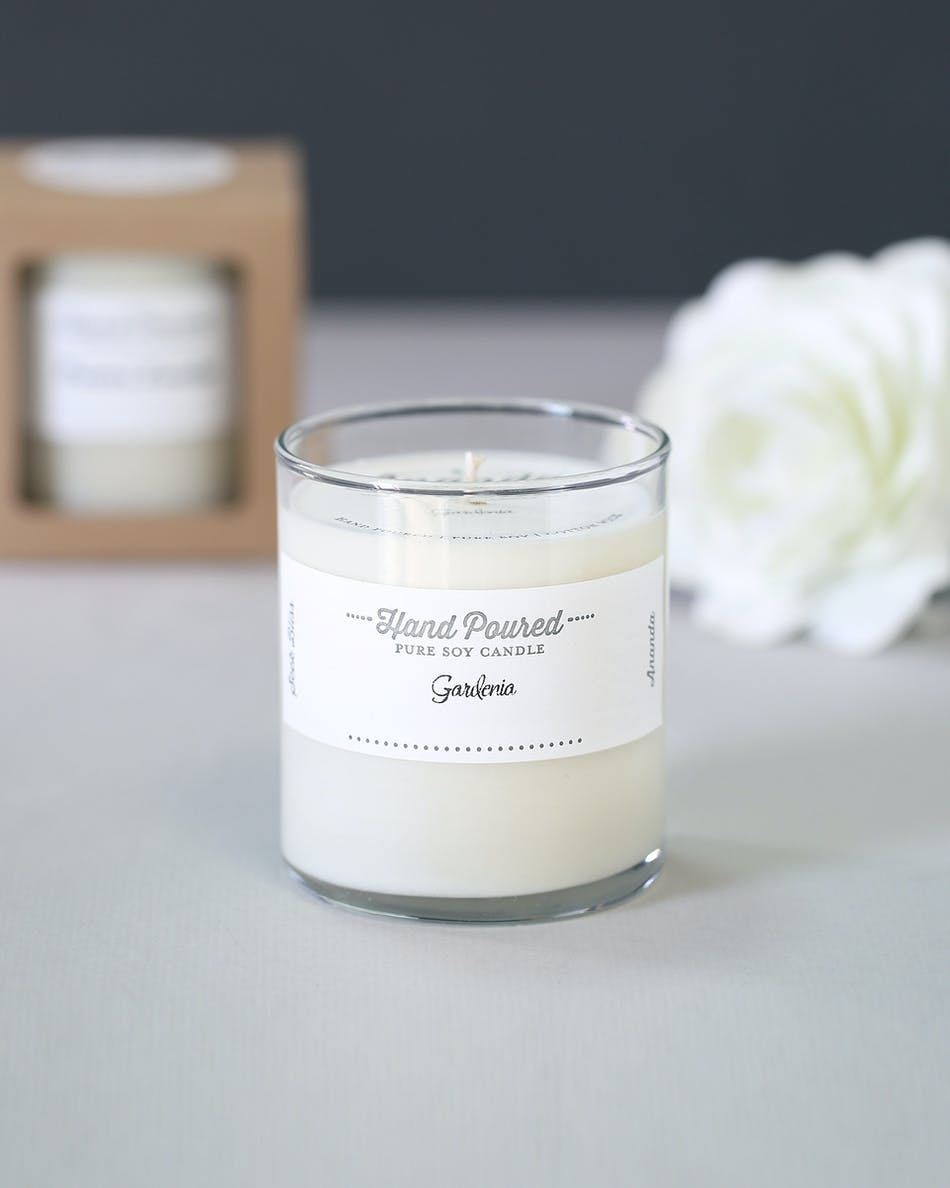 gardenia candle pure soy candle florist orlando fl in bloom