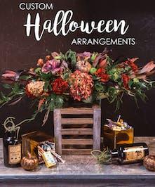 Custom Halloween Arrangement