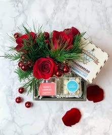 Send a basket full of sweets to celebrate the season of giving!