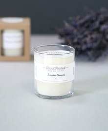 100% soy wax that is organically grown in USA