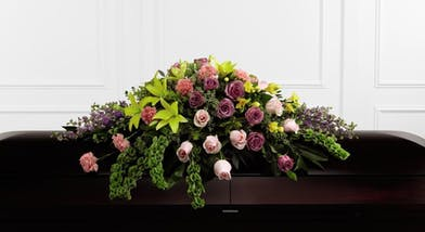 Forever Beloved Casket Spray - Orlando (FL) Flower Delivery