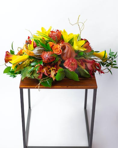 This centerpiece will become a staple of your Fall traditions, just like pumpkin pie!