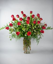 roses, long stem rose, rose, valentine's day, classic valentine, dozen roses, 24 roses, red roses, pink roses, white roses, yellow roses