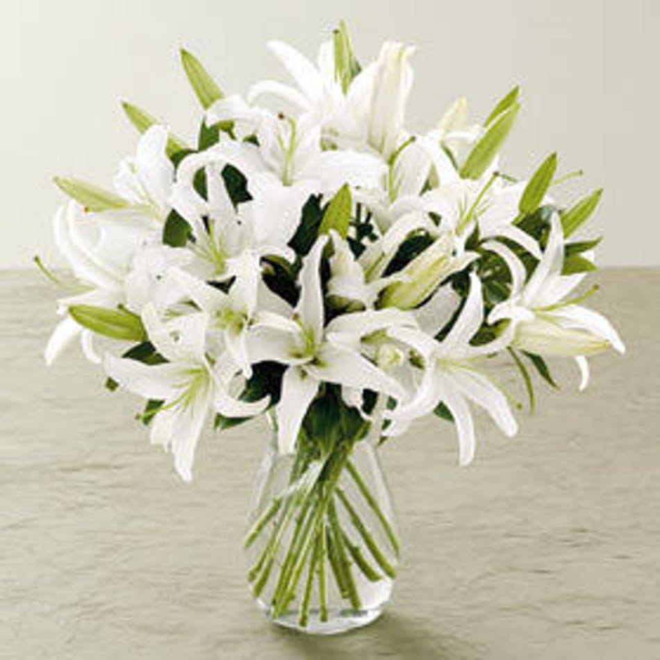 Casablanca Lilies Florist Orlando Fl In Bloom Florist Same