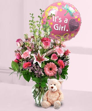 f140e6e850cb New Baby Flowers   Gifts Delivery Orlando (FL) In Bloom Florist