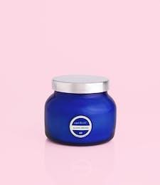 Aloha Orchid- 8oz Blue Petite Jar