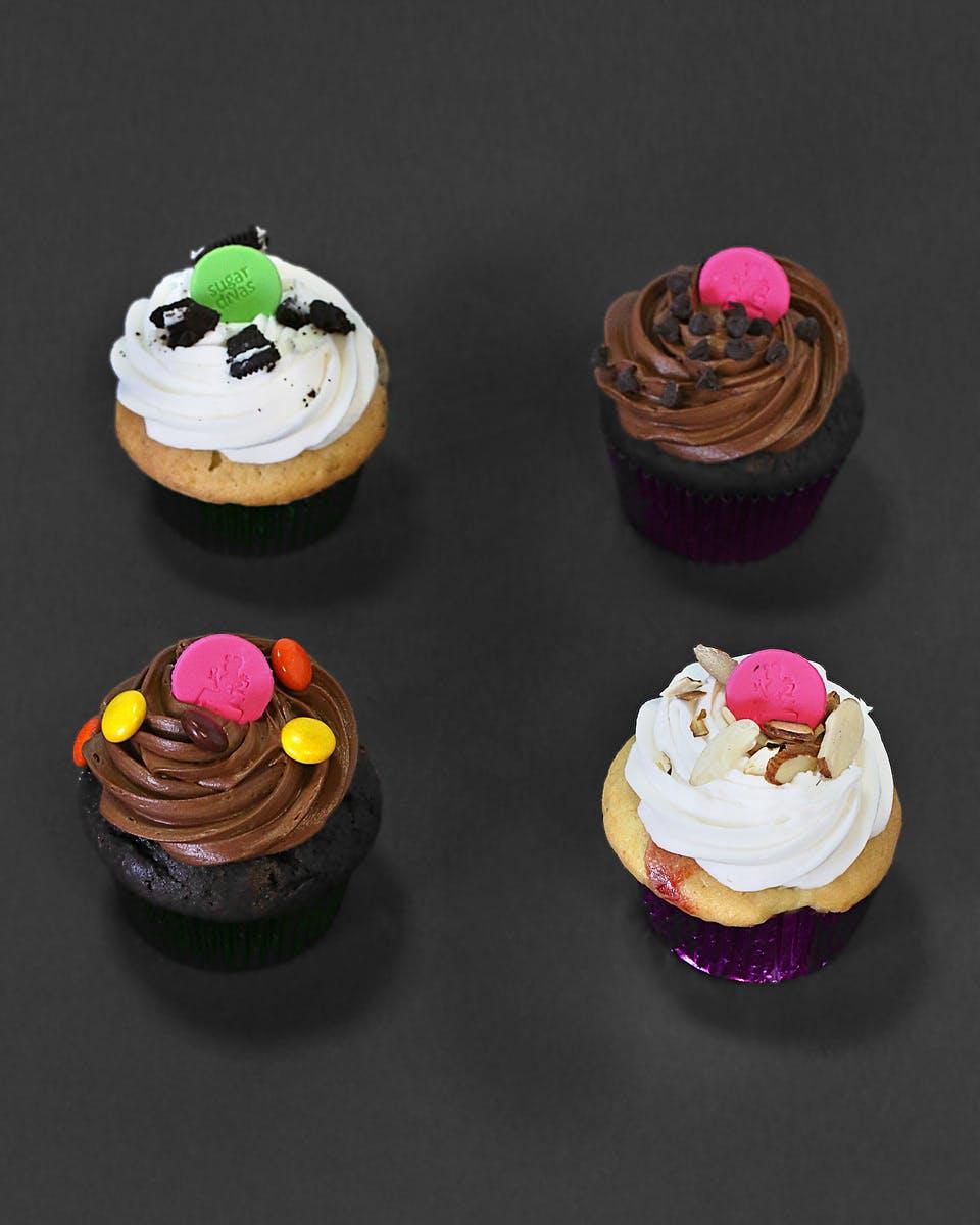 Terrific Cupcakes Personalised Birthday Cards Xaembasilily Jamesorg