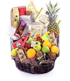 In Bloom's Fruit & Gourmet Basket