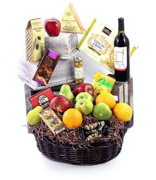 In Bloom's Wine Basket