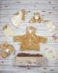 Beary Comfy Baby Basket - Tan & Cream (As Shown)
