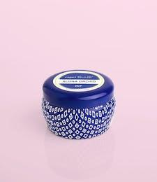 Aloha Orchid- 3oz Blue Signature Printed Mini Tin