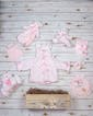 Beary Comfy Baby Basket - Pink